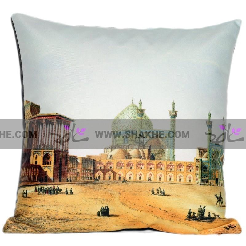 کوسن تصویر نقاشی میدان نقش جهان اصفهان