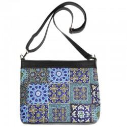 کیف دخترانه چند کاشی آبی