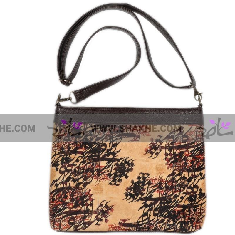 کیف دخترانه مخمل خط