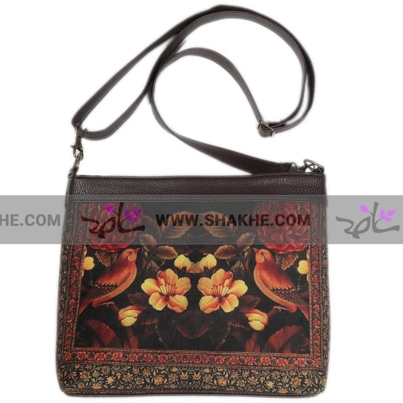 کیف دخترانه گل و مرغ