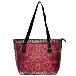 کیف دوشی زنانه فرش لاکی