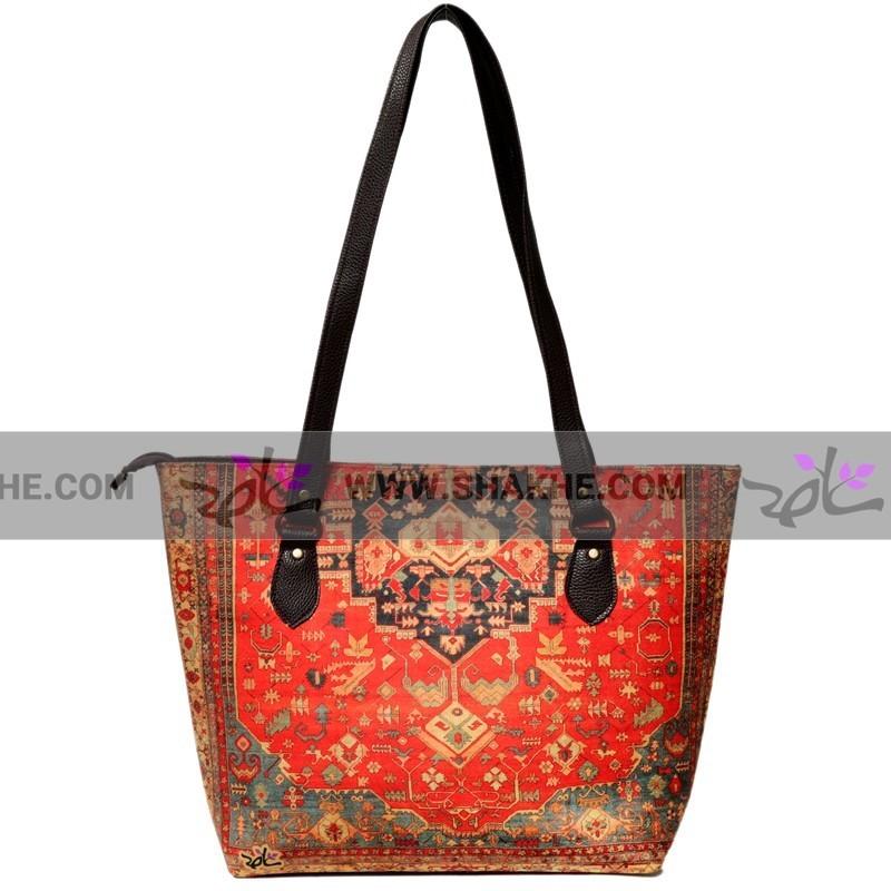 کیف دوشی زنانه فرش ترنج