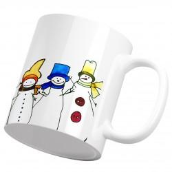 ماگ سرامیکی کریسمس آدم برفی