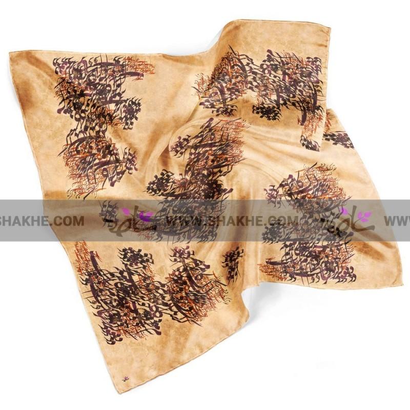 روسری نخی خط کرم