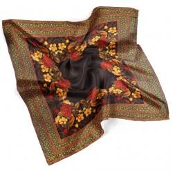 روسری نخی گل و مرغ