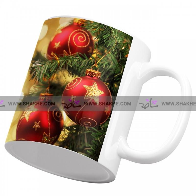 لیوان سرامیکی کریسمس