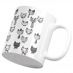 لیوان سرامیکی گربه ملوس