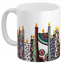 لیوان سرامیکی شمعدان