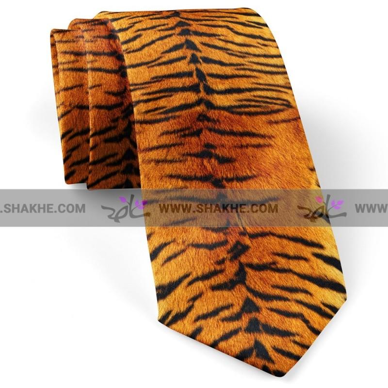کراوات پوست ببری