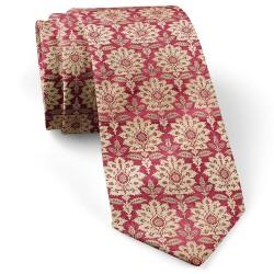 کراوات برگ کرم قرمز