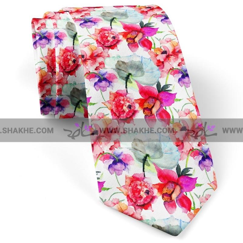 کراوات گل آبرنگ