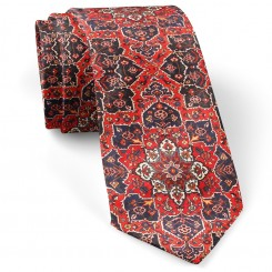 کراوات طرح فرش قرمز