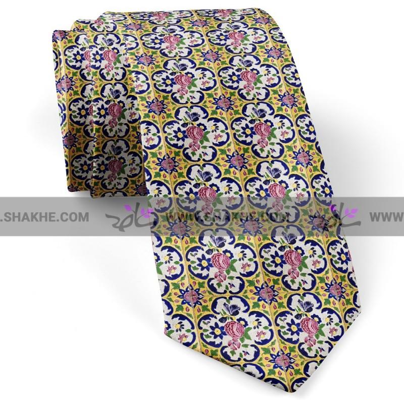 کراوات کاشی زرد لوتوس
