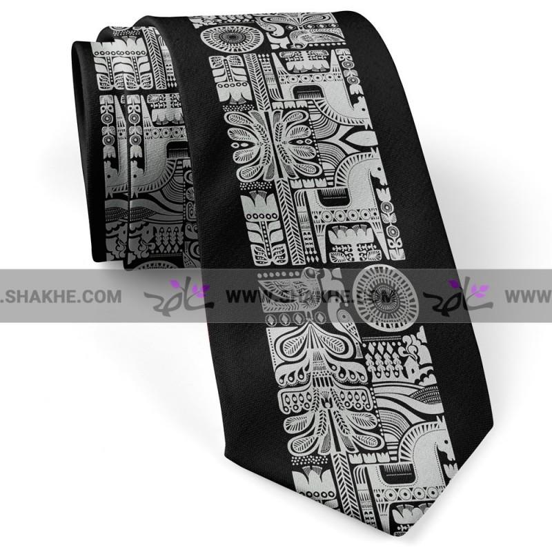 کراوات منوکروم
