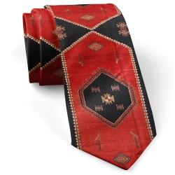 کراوات سنتی طرح جاجیم