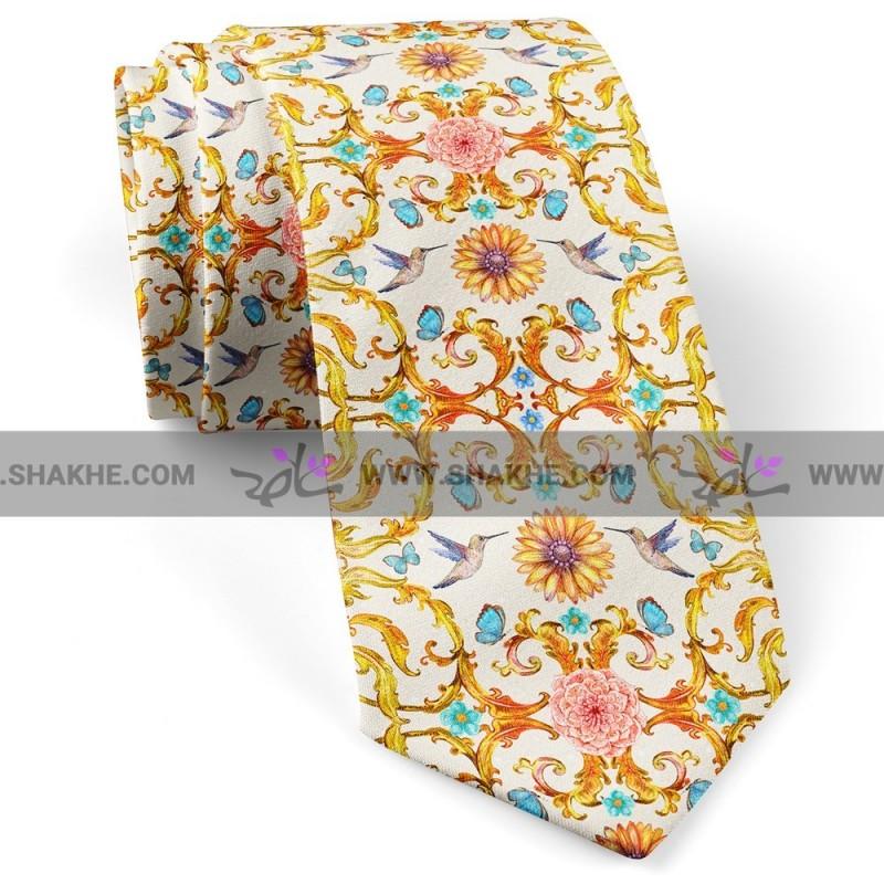 کراوات مرغ کلاسیک سفید