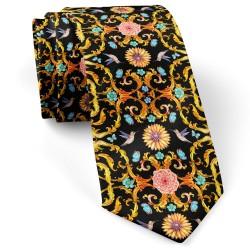 کراوات کلاسیک گل و پروانه