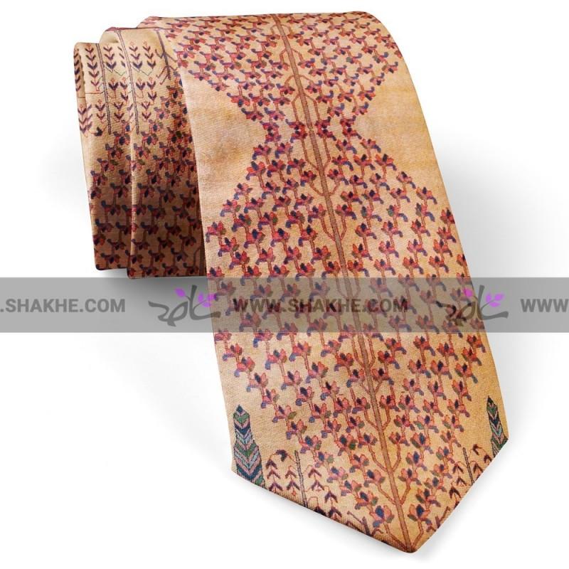 کراوات مردانه فرش زرد