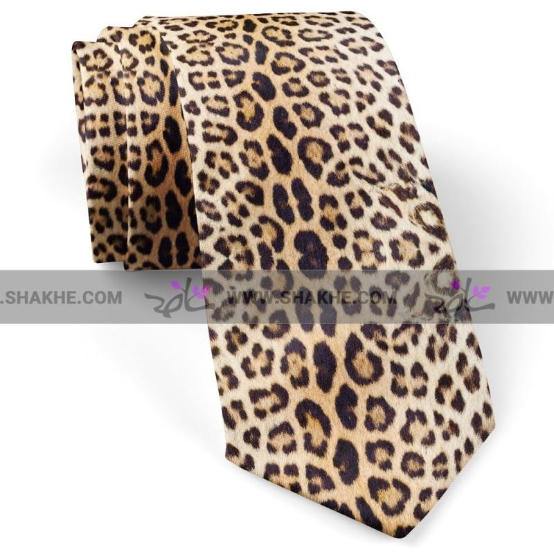 کراوات مردانه پلنگی