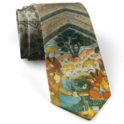 کراوات مردانه سنتی مینیاتور عیش