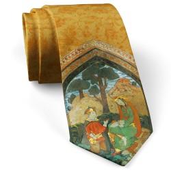 کراوات مردانه مینیاتور خسرو و شیرین