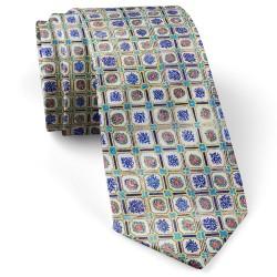 کراوات مردانه کاشی ریز ترکیبی