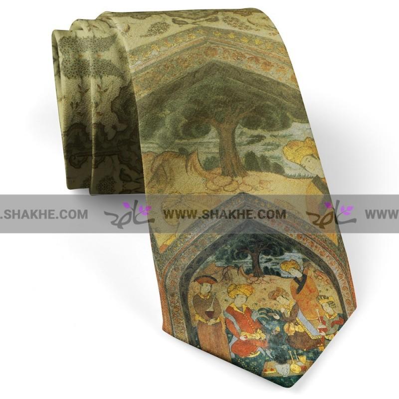 کراوات مردانه مینیاتور محفل
