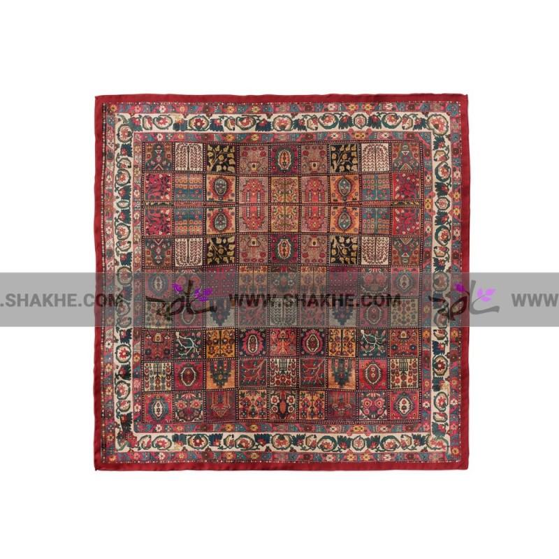 پوشت (دستمال جیب) فرش خشتی