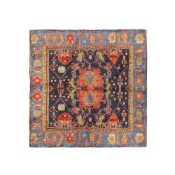 پوشت (دستمال جیب) طرح قالی