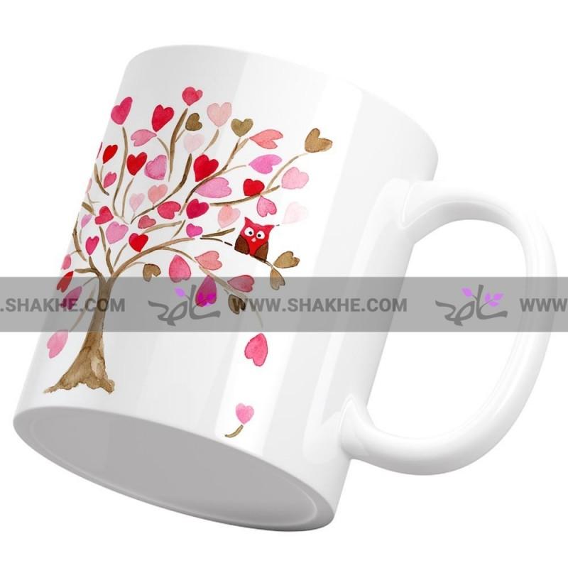 ماگ درخت قلب