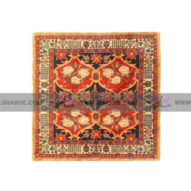 پوشت (دستمال جیب) فرش رز