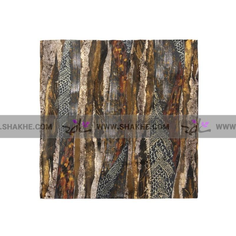 پوشت (دستمال جیب) طرح چوب