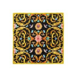 پوشت (دستمال جیب) کلاسیک گل و پروانه