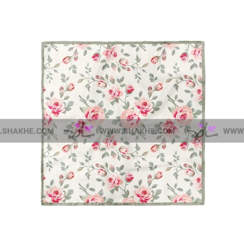 پوشت (دستمال جیب) گل انگلیسی