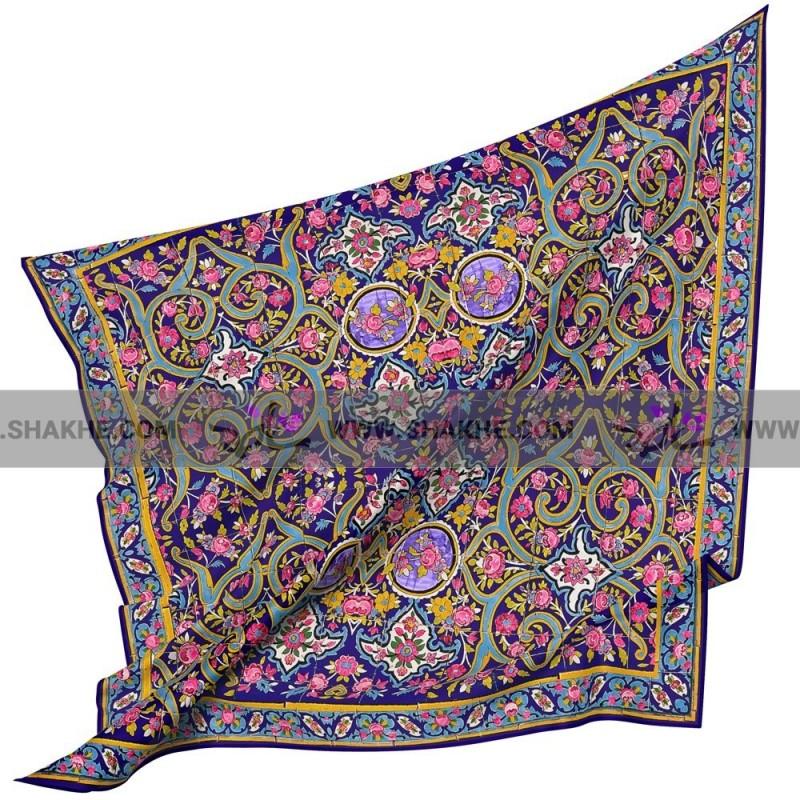 روسری نخی ارغوان