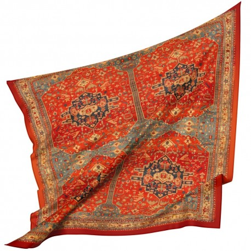 روسری نخی فرش ترنج