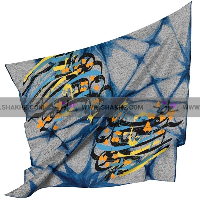 روسری نخی خط باتیک