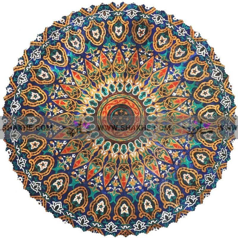 رومیزی مخمل شمس ابرنگ