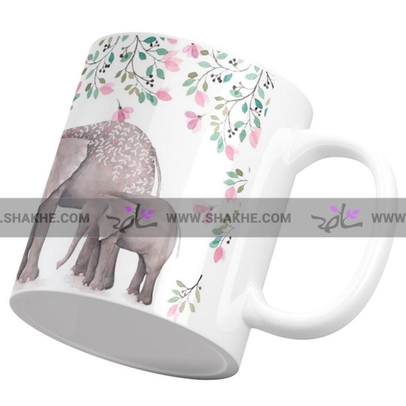 ماگ عشق فیل و فیلچه