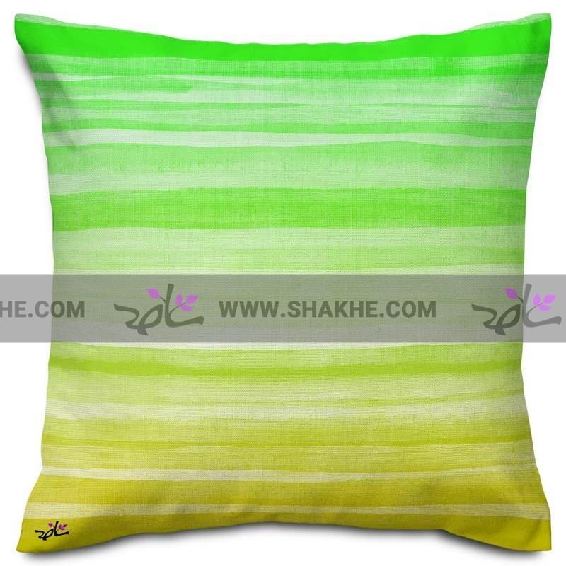 کوسن رنگین سبز تا زرد