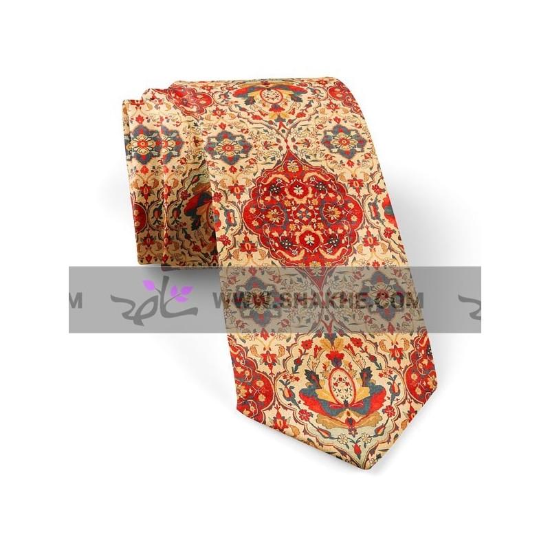 کراوات طرح فرش بندی