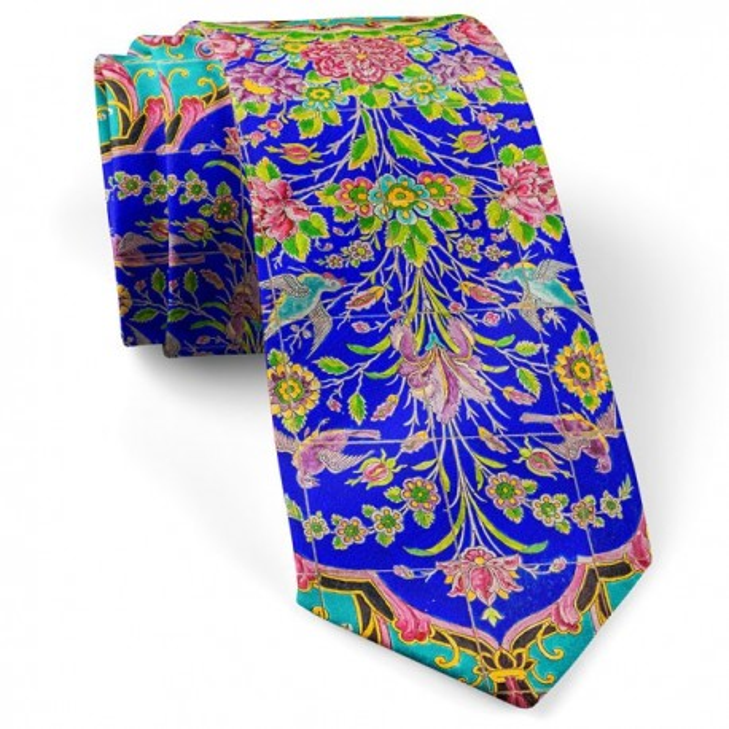کراوات گل افشان