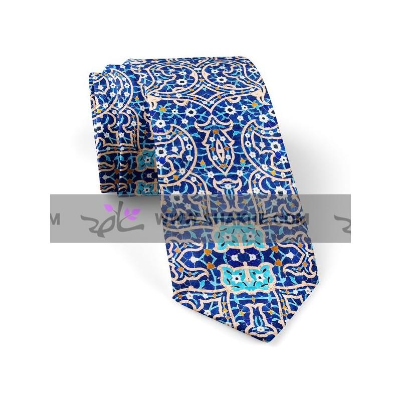 کراوات کاشی شکسته لاجورد