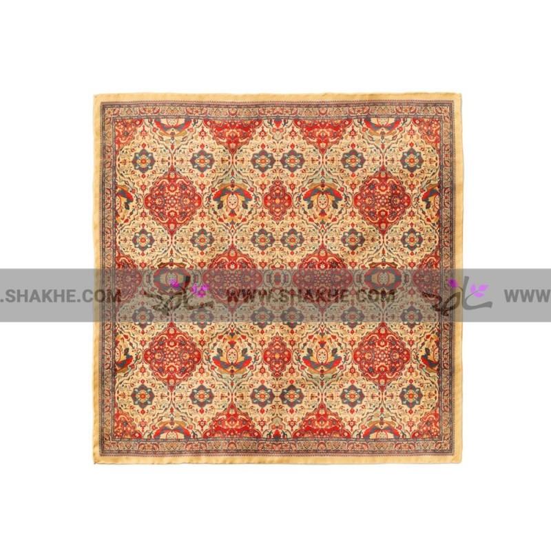 پوشت (دستمال جیب) فرش بندی