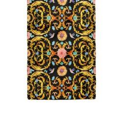 دستمال گردن کلاسیک گل و پروانه